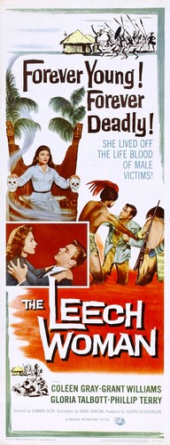 THE LEECH WOMAN FILM POSTER 2