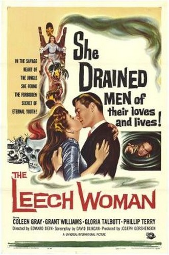 THE LEECH WOMAN FILM POSTER 3