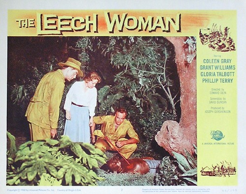 THE LEECH WOMAN LOBBY CARD 3