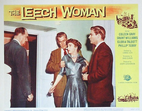 THE LEECH WOMAN LOBBY CARD 4