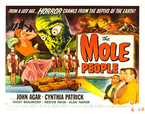 THE MOLE PEOPLE FILM POSTER 1