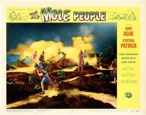 THE MOLE PEOPLE LOBBY CARD 1