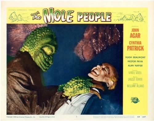 THE MOLE PEOPLE LOBBY CARD 2