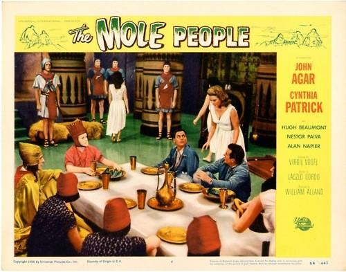 THE MOLE PEOPLE LOBBY CARD 3