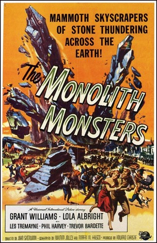 THE MONOLITH MONSTERS FILM POSTER 2