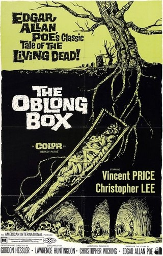 THE OBLONG BOX FILM POSTER 1