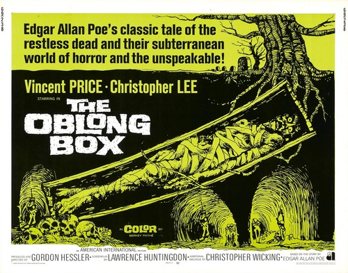THE OBLONG BOX FILM POSTER 2