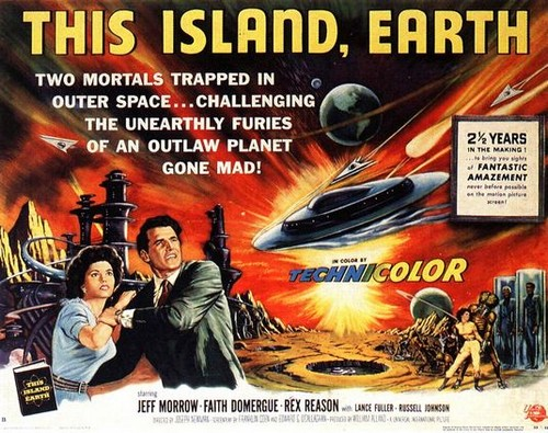 THIS ISLAND EARTH FILM POSTER 1