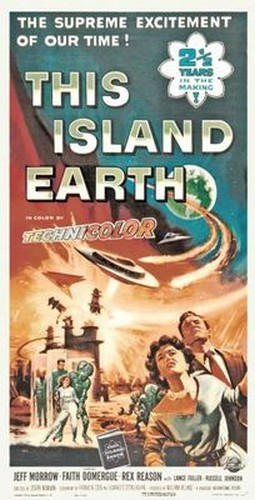 THIS ISLAND EARTH FILM POSTER 4