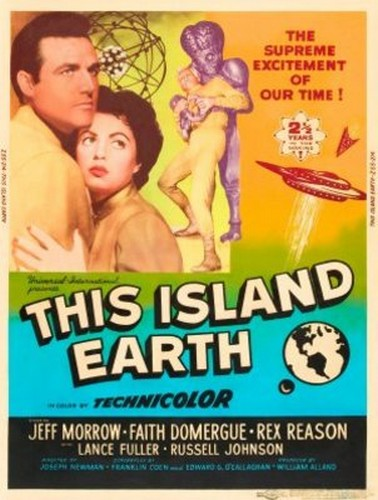THIS ISLAND EARTH FILM POSTER 5
