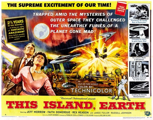 THIS ISLAND EARTH FILM POSTER 6