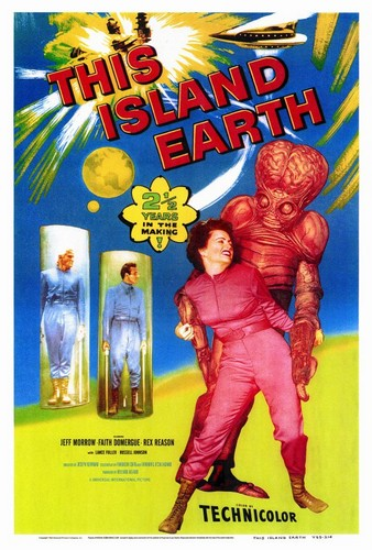 THIS ISLAND EARTH FILM POSTER 7