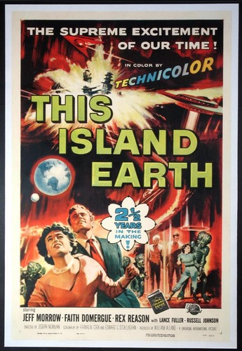 THIS ISLAND EARTH FILM POSTER 8