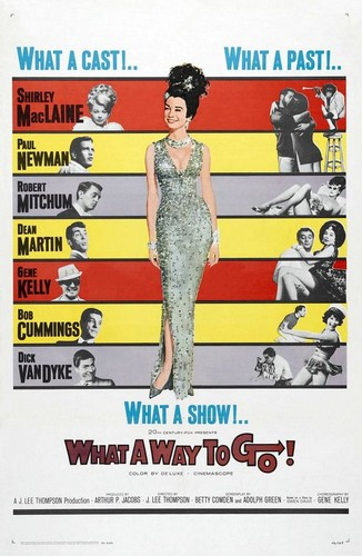 WHAT A WAY TO GO FILM POSTER 1