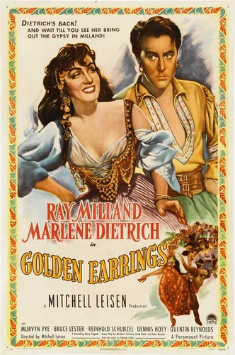 GOLDEN EARRINGS FILM POSTER 1