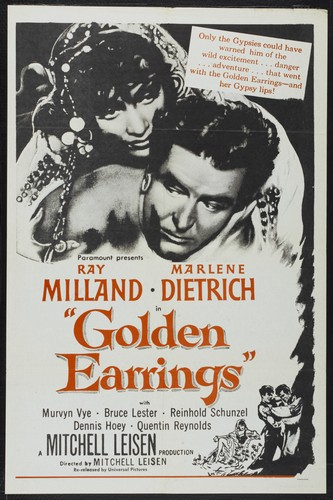 GOLDEN EARRINGS FILM POSTER 3
