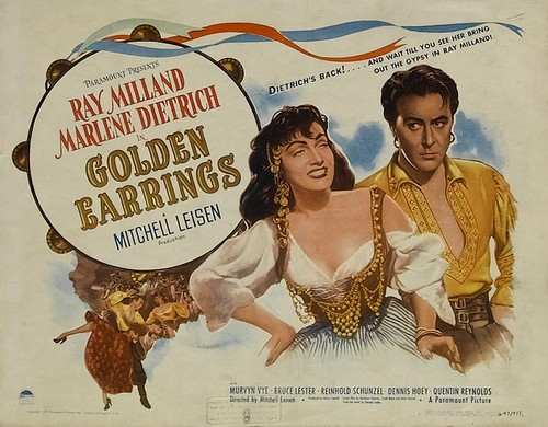GOLDEN EARRINGS FILM POSTER 5