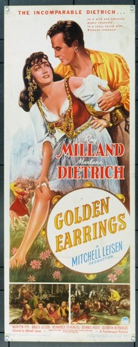 GOLDEN EARRINGS FILM POSTER 6