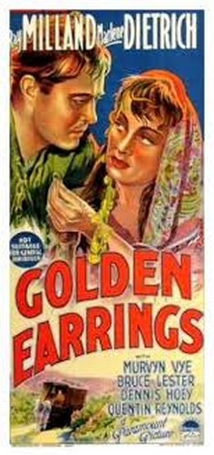 GOLDEN EARRINGS FILM POSTER 8