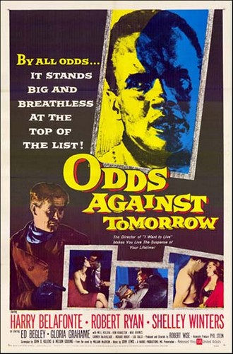 ODDS AGAINST TOMORROW FILM POSTER 0