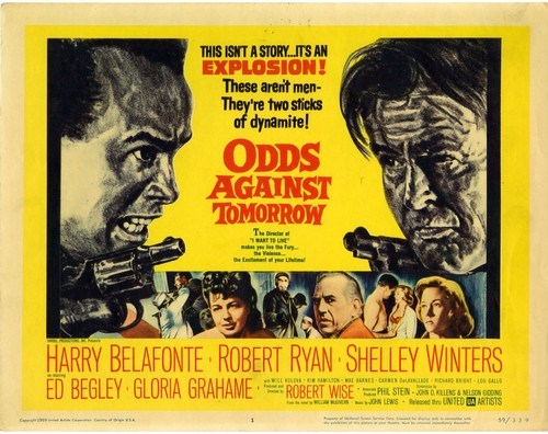 ODDS AGAINST TOMORROW FILM POSTER 1