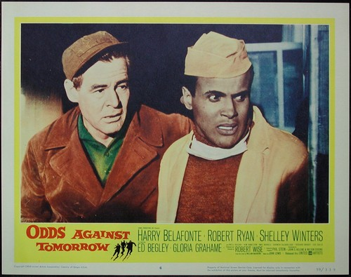 ODDS AGAINST TOMORROW LOBBY CARD 7