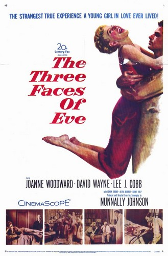 THE THREE FACES OF EVE FILM POSTER 1