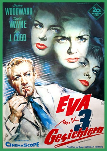 THE THREE FACES OF EVE FILM POSTER 6