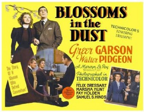 BLOSSOMS IN THE DUST FILM POSTER 10