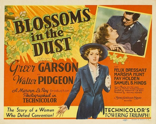 BLOSSOMS IN THE DUST FILM POSTER 2