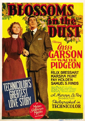 BLOSSOMS IN THE DUST FILM POSTER 3