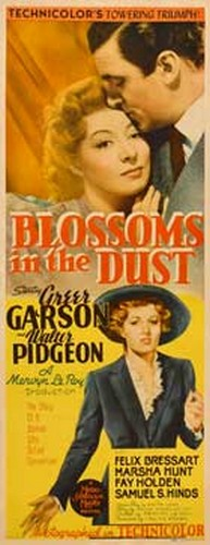 BLOSSOMS IN THE DUST FILM POSTER 4