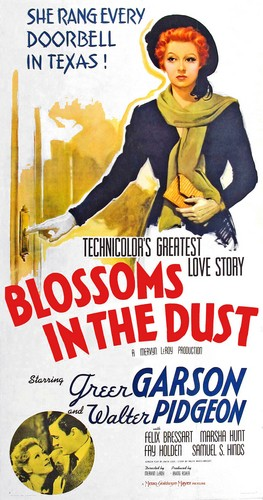 BLOSSOMS IN THE DUST FILM POSTER 5