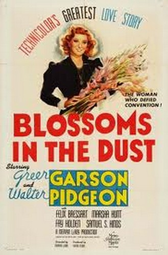 BLOSSOMS IN THE DUST FILM POSTER 6