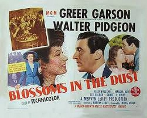 BLOSSOMS IN THE DUST FILM POSTER 7