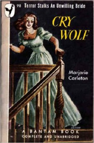 CRY WOLF(1947) BOOK COVER