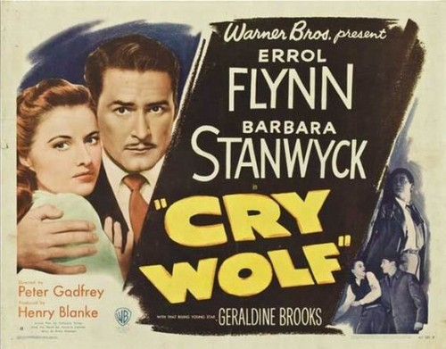 CRY WOLF(1947) FILM POSTER 1