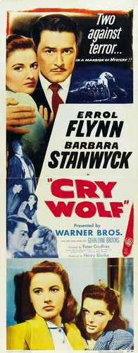 CRY WOLF(1947) FILM POSTER 6