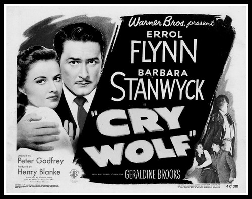 CRY WOLF(1947) FILM POSTER 7