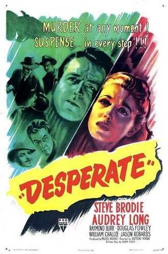 DESPERATE(1947) FILM POSTER 1