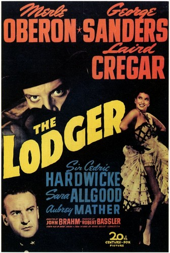 THE LODGER FILM POSTER 1