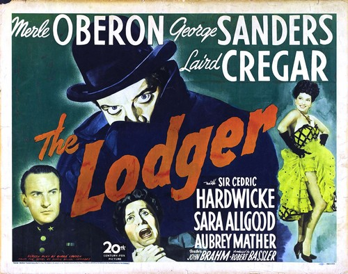 THE LODGER FILM POSTER 2