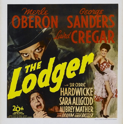THE LODGER FILM POSTER 3