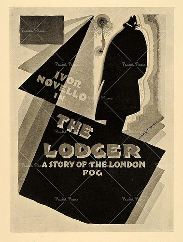 THE LODGER FILM POSTER 4