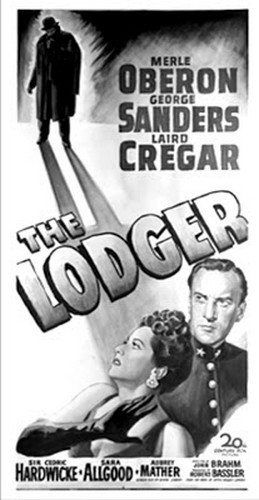 THE LODGER FILM POSTER 6