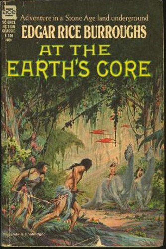 AT THE EARTH'S GORE(1976) BOOK COVER 2