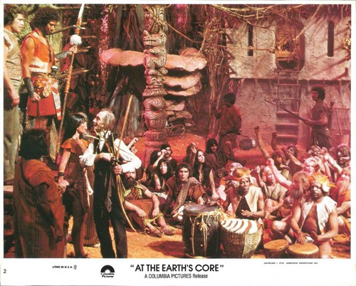 AT THE EARTH'S GORE(1976) LOBBY CARD 1