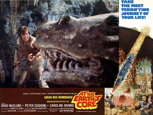 AT THE EARTH'S GORE(1976) LOBBY CARD 2