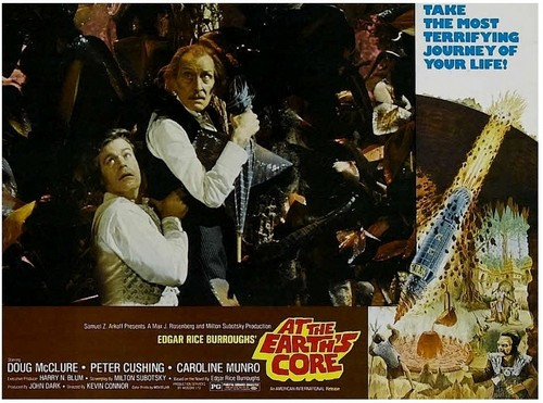 AT THE EARTH'S GORE(1976) LOBBY CARD 5