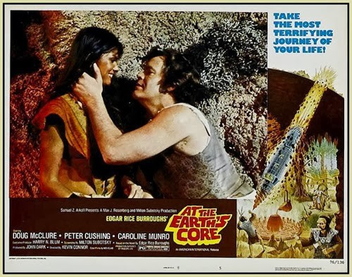AT THE EARTH'S GORE(1976) LOBBY CARD 7